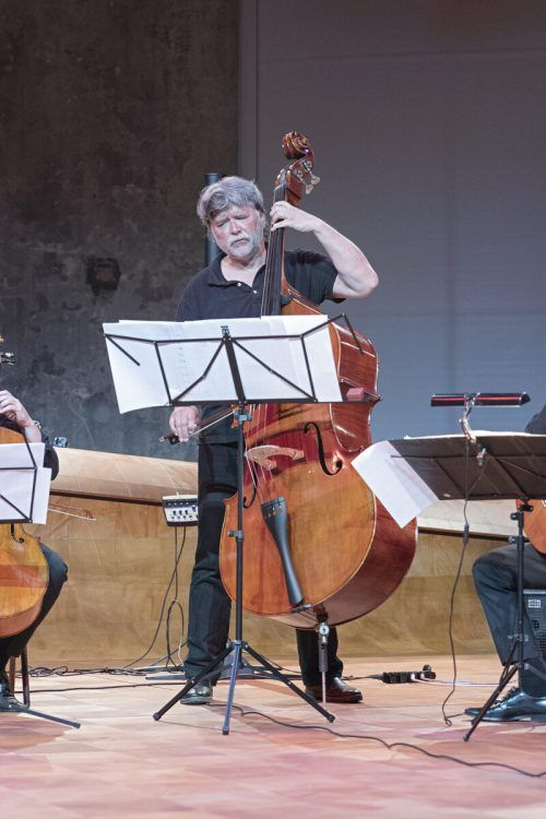 """Der Tango ist Teil meiner DNA"", sagt Kontrabassist Francisco Obieta."