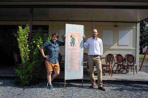 Die beiden Dornbirner Lisa-Marie Berkmann und Roman Zöhrer sind nun für das Programm im Freudenhaus zuständig. Caravan