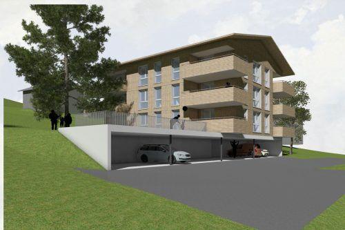 Die erste gemeinnützige Wohnanlage in Brand soll bis Ende Jahr fertiggestellt werden. Im März erfolgt die Schlüsselübergabe. architekturwerkstatt grabher dworzak