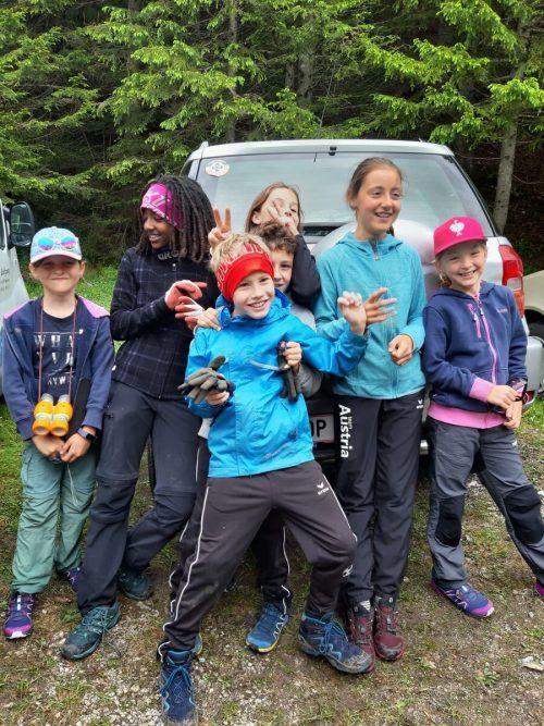 Die Nenzinger Wintersportler waren kürzlich im Froneinsatz unterwegs.