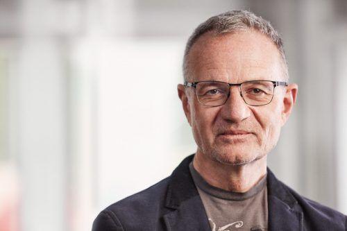 Armin Fidler nimmt am digitalen VN-Stammtisch Platz.