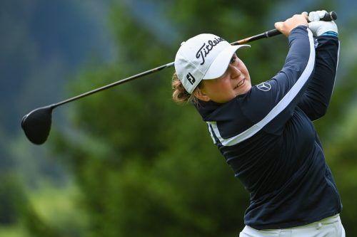 Ein Platz auf der Profitour ist das große Ziel der Montafoner Golferin Janika Rüttimann. Lerch