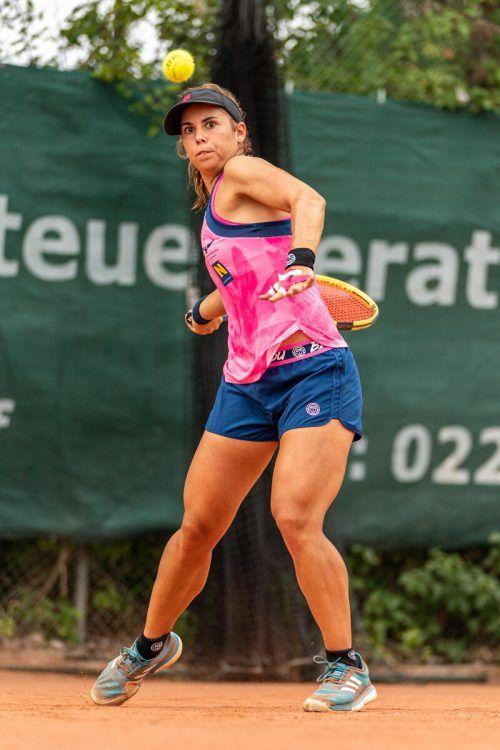 Erfolgreich verliefen die ersten zwei Spiele für Julia Grabher in der ÖTV-Bundesliga.gepa