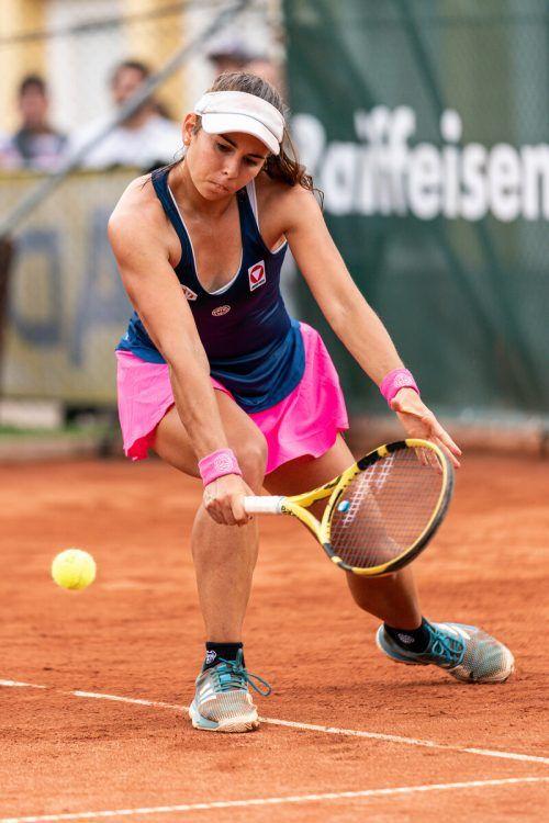 Julia Grabher war in Paris nur zwei Punkte entfernt von der Hauptrunde.GEPA