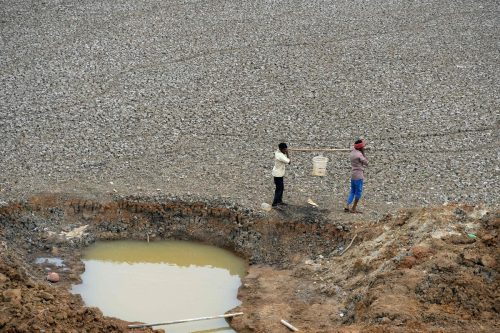 Große Teile Indiens haben schon jetzt mit häufigen Dürren zu kämpfen. AFP