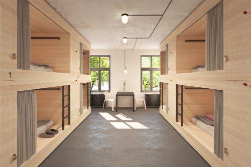 Im St. Josefsheim entsteht das erste Hostel des Tals. SiMo