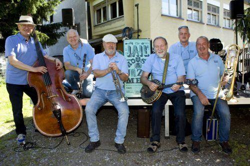 Die Jailhoue Jazzmen spielen diesen Samstag beim Ässa&Tschässa-Fest ab 11 Uhr auf.vn/archiv