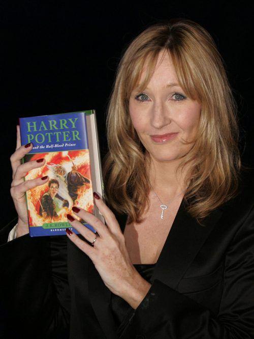 J.K. Rowling ist mit ihrer Harry-Potter-Buchreihe zur Milliardärin geworden. AP