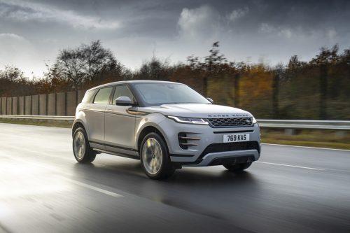 Kaum verändert und doch rundum neu gemacht: der Range Rover Evoque der zweiten Generation. Land Rover reicht jetzt eine Plug-in-Hybrid-Version nach.