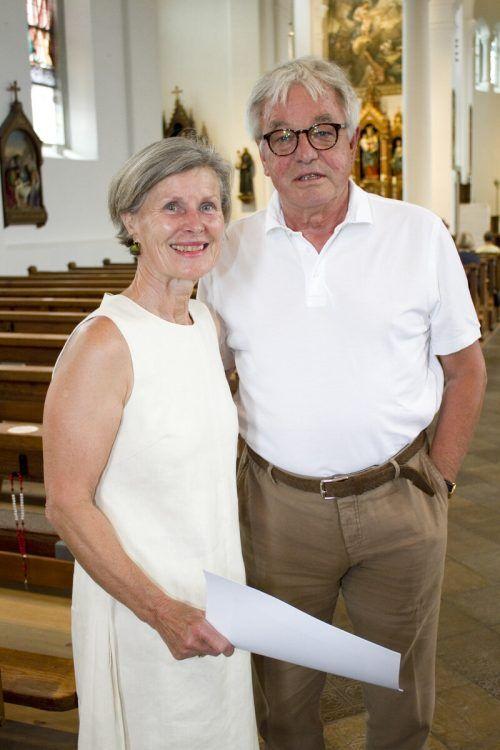 Klassikfreunde Monika und Wolfgang Götze.
