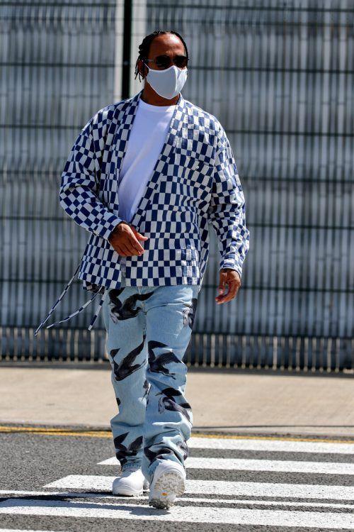 Lewis Hamilton, der Vielseitige. In Silverstone geht es um die Formel 1.gepa?