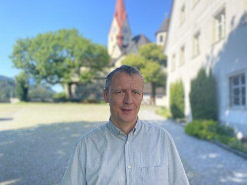 Martin Salzmann lebt und arbeitet sein Leben lang am Liebfrauenberg. VN/Schweigkofler