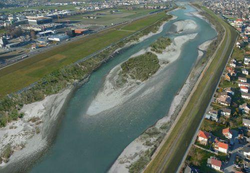 Rhesi soll vor einem 300-jährigen Hochwasser schützen. Voraussetzung für die Einreichung ist der Staatsvertrag.rheinregulierung