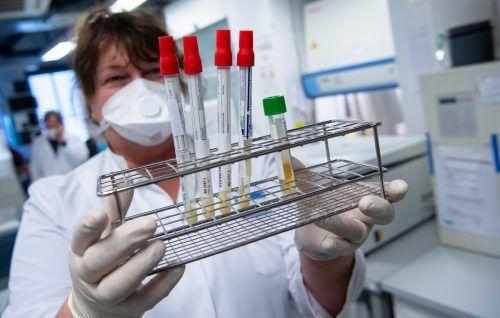 EndeMai lag der Delta-Anteil bei Neuinfektionen noch bei unter drei Prozent.DPA