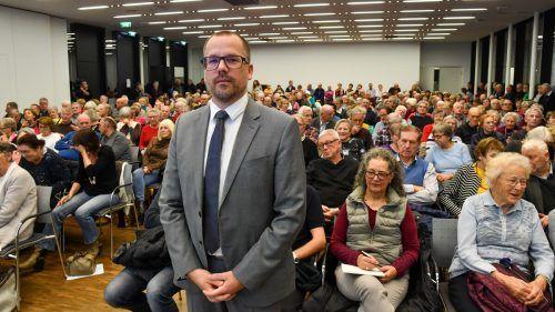 Primar Matthias Frick ist als Experte für Herzerkrankungen gefragt. vn/lerch