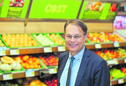 """SPAR-Vorstandsvorsitzender Dr. Gerhard Drexel: """"Wir sind als österreichisches Familienunternehmen stolz auf unsere hervorragende Position.""""FA"""