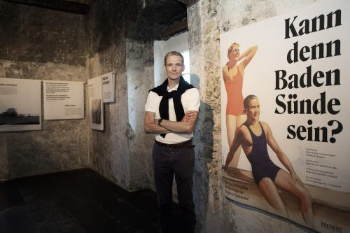 Stadtarchivar Thomas Klagian hat für die Ausstellung im Martinsturm das Archiv geöffnet. VN/Paulitsch