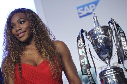 Tennisstar Serena Williams investiert in Frauenfußball.ap