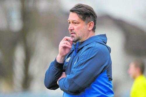 Trainer Michael Pelko möchte Bregenz eine Stufe nach oben führen.VN/tk
