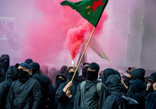 Vor knapp zwei Wochen kam es bei einer friedlichen antifaschistischen Kundgebung zu massiven Ausschreitungen.APA