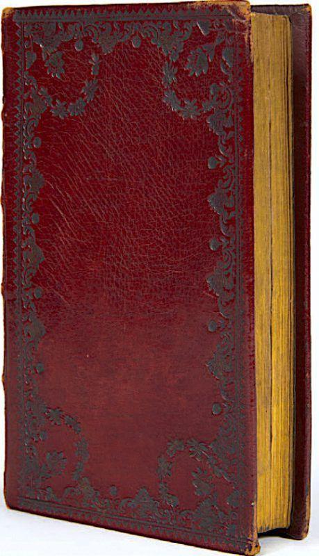 Wörterbuch aus Bregenz für den französischen General Paillard.                              Vorarlberger Privatsammlung