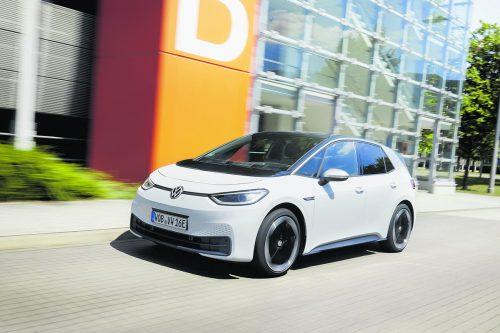 Zeitloses und gefälliges Styling – der ID.3 will VW-typisch möglichst breite Ansprüche erfüllen. Werk