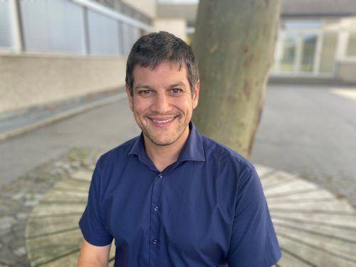 Ab September ist Simon Hagen Direktor an der VS Rankweil-Montfort. VN/Schweigkofler