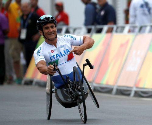Alessandro Zanardi macht nach seinem Unfall gesundheitlich Fortschritte. reuters