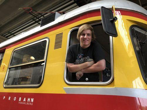Alexander Zoppel hat seine Passion zum Beruf gemacht. VN/Hämmerle