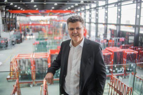 Branchensprecher Bernhard Feigl. VN
