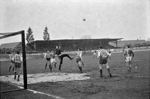 Am 19.März 1967 erlebten im Bodenseestadion 5000 Zuschauer ein packendes Match von SW-Bregenz gegen den LASK.