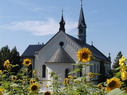 Die Akustik in der Klosterkirche ist fantastisch.Kloster Gwiggen