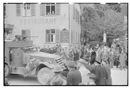 Am Nachmittag des 4. Mai 1945 rückte die französische Armee kampflos in der Stadt Bludenz ein. Stadtarchiv