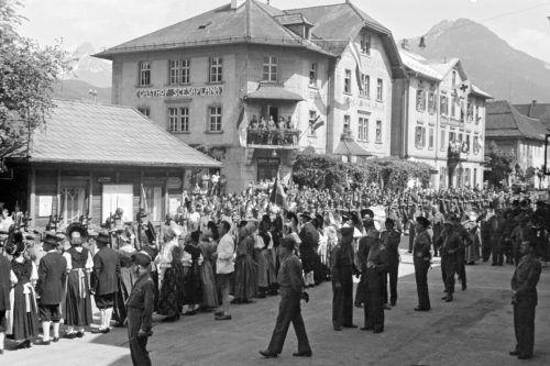Am Nachmittag des 4. Mai rückte die französische Armee in Bludenz ein. Stadtarchiv