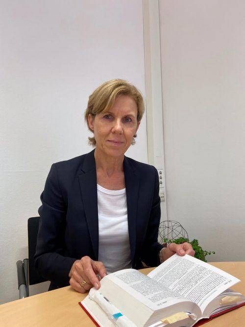 Angelika Prechtl-Marte aus Röthis steht seit dem 1. August 2020 dem Landesgericht Feldkirch und den Vorarlberger Bezirksgerichten vor. bmj