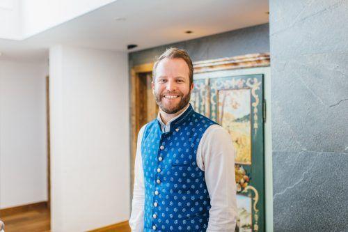 Arlberg-Hoteldirektor Benjamin Schofer.