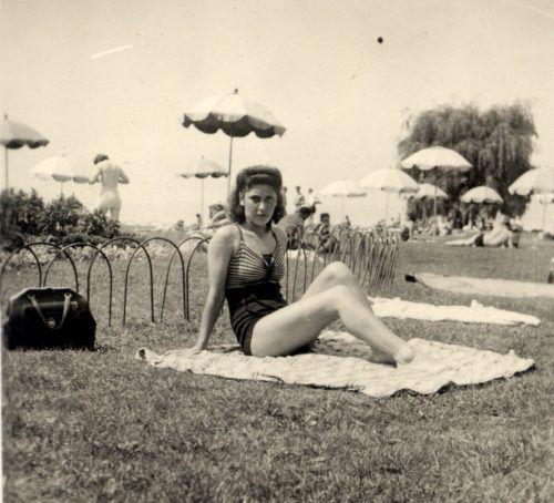 Auch die Mode in den Bregenzer Badeanstalten aus früheren Zeiten wird dokumentiert.