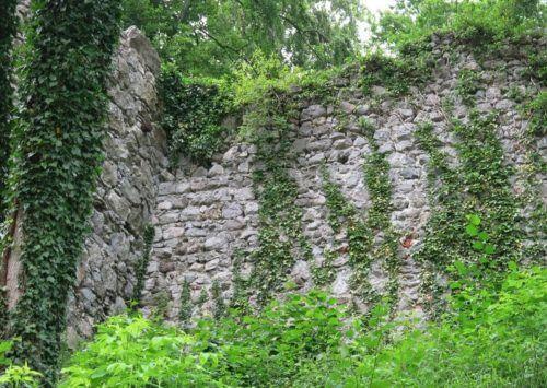 Auf der Ruine Neuburg konnte wieder ein wichtiger Teil vor dem Verfall gerettet werden. Mäser