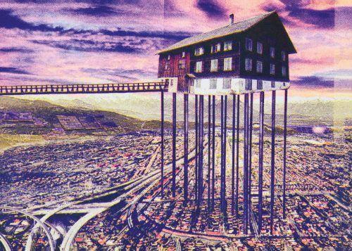 Aus der Postkarten-Serie von Marie Vermont, die für die Bregenz Biennale enstanden ist. Infos: bregenzbiennale2020. Vermont