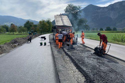 Bauarbeiten für dritten A 14-Anschluss in Dornbirn laufen auf Hochtouren. Stadt Dornbirn