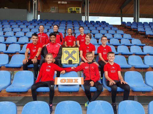Beeindruckende Leistungen zeigten die Bregenzer Nachwuchssportler.