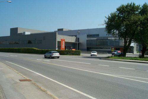 Beim Blum-Werk 5 in Fußach sind Umbauten geplant.