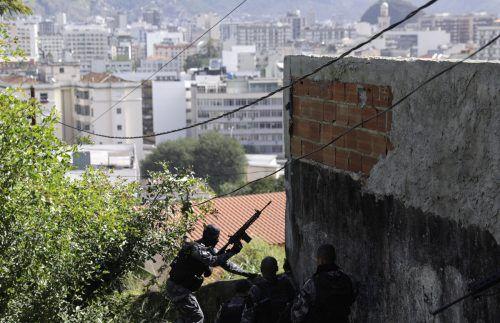 Beim Kampf zwischen Drogenbanden kam es zu Schießereien und Explosionen. Reuters