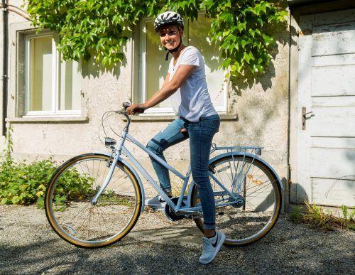 Besonders wichtig, um auch bei langen Touren Spaß am Radfahren zu haben und den Rücken zu schonen, ist laut Professor Grifka die richtige Sitzposition. VN/Paultisch