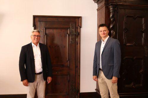 Bürgermeister Wolfgang Matt und Dr. Nermin Durakovic. Stadt