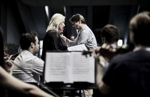 Camilla Nylund mit dem Lech Classic Orchester. Im nächsten Jahr wird das Festival wieder im vollen Umfang stattfinden und Beethoven gewidmet sein. Festival/flasaar