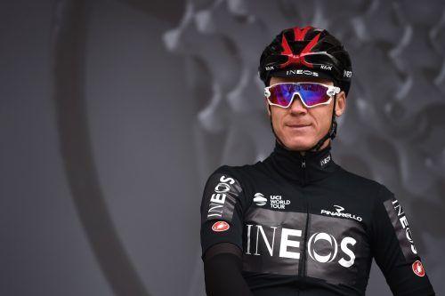Chris Froome, viermaliger Tour de France-Sieger, muss heuer zuschauen. apa