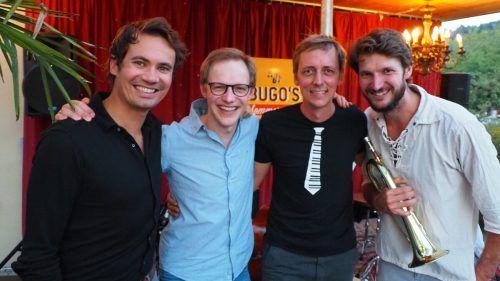 Christian und Philipp Sonderegger sowie David und Markus Ess heizten gemäß ihres Bandnamens Espresso mit starken und heißen Rhythmen ein. Egle (4)
