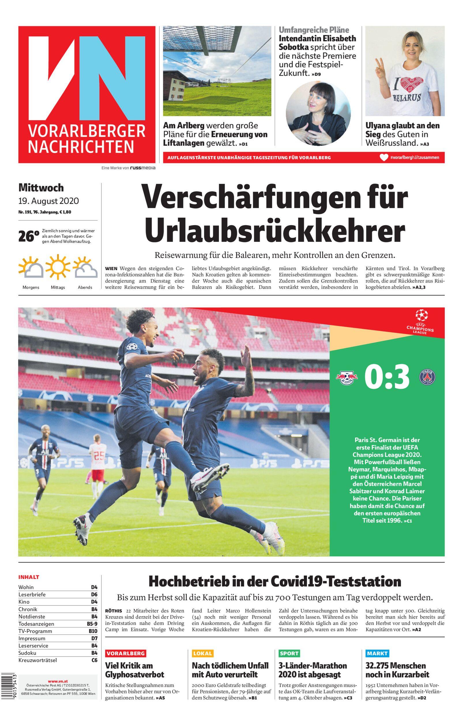 Vorarlberger Nachrichten   VN.AT Seite 623 von 3512