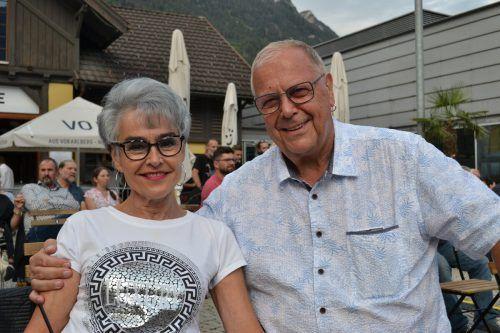 Dagmar Nuderscher und Günter Neyer genossen das Event.